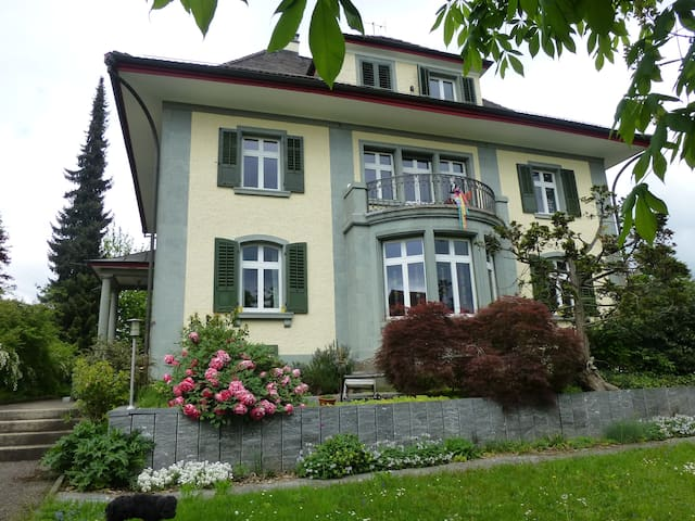 Villa des Roses, grünes Zimmer - Wetzikon - 別墅