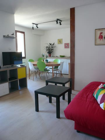 Modern and new apartment 50m from ski lift in Ax - Ax-les-Thermes