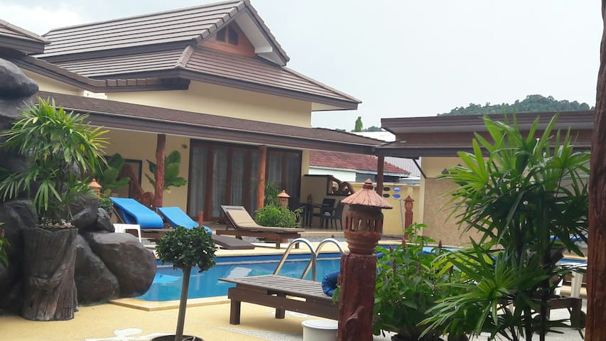 2-BEDROOM POOL VILLA WITH PRIVATE JACUZZI - Ao Nang - Apartamento