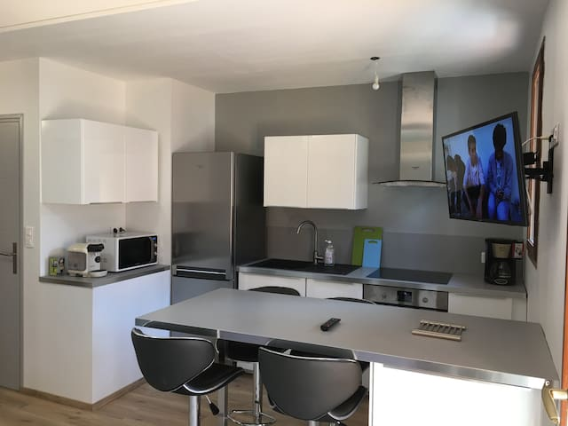 Appartement T1 Bis moderne et confortable - Bagnères-de-Luchon