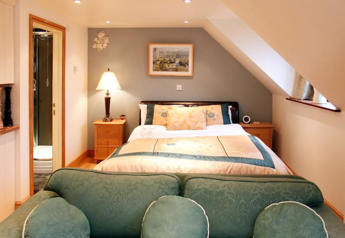 private studio in a lovely village - Barnwell - Appartement