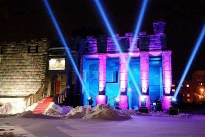 Entertainment complex BEYOND REAL - Kiev - Hus