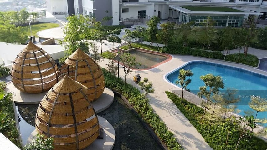 Tropez Resident 1 - Johor Bahru - Appartement