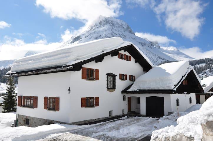Privates komfortables Ferienhaus mit Stil in Lech - Лех - Дом