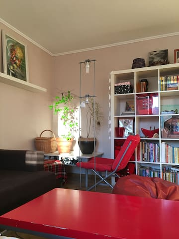 Comfortable room in  green and peaceful area - Valdlauči - Apartemen