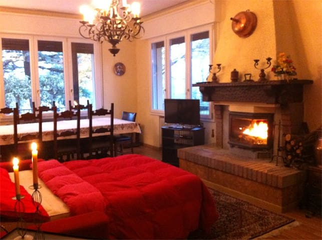 With large garden between Bologna-Florence - Piandisetta - Appartement