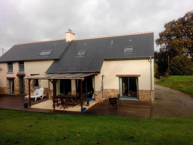 Brittany house with garden  - Ercé-prés-Liffré - Huis