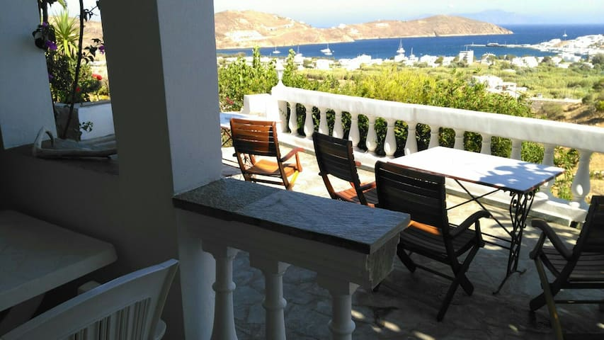"Room ""2"" with sea view for 2 people - Σέριφος - Isla"