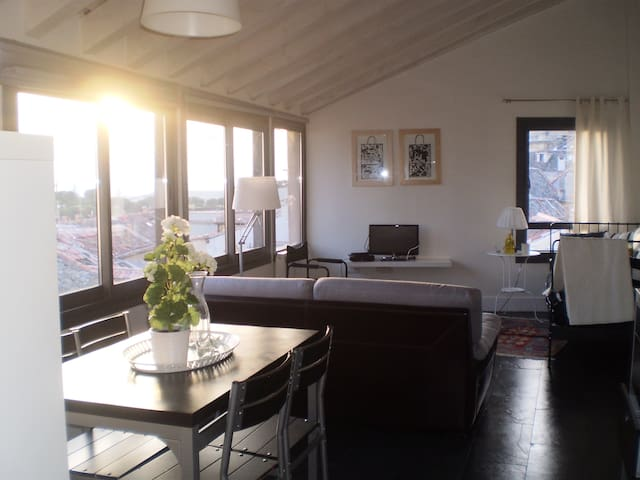 Penthouse with wonderful views - Segovia - Daire