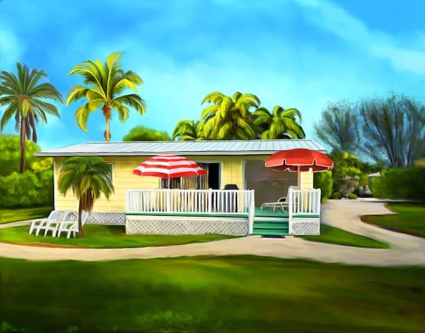 The Sunny Shell Basket Cottage - Sanibel - Ház