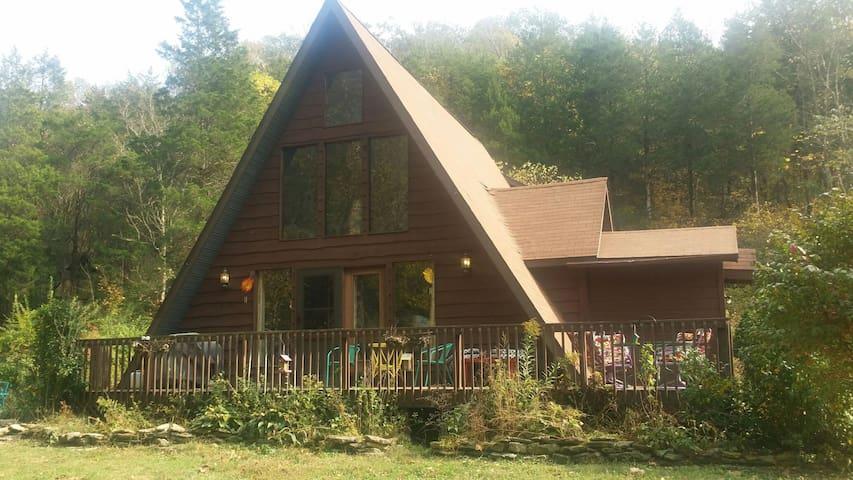 Private room in cute little cabin - Madison - Houten huisje