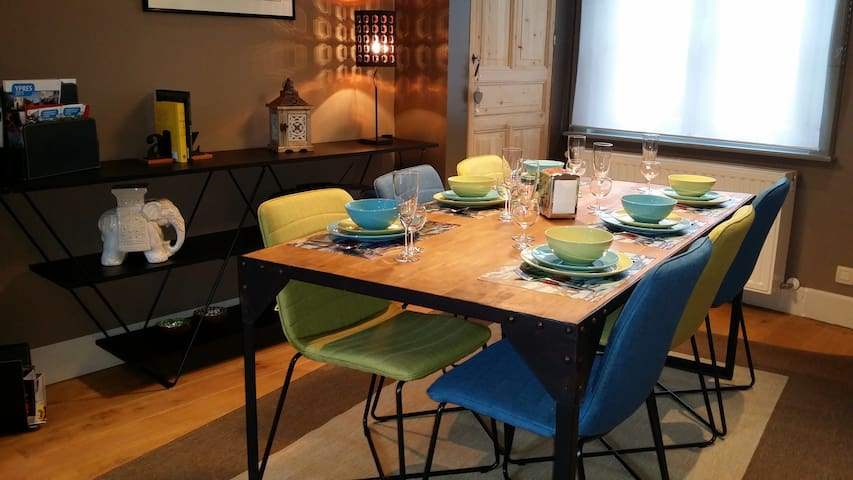 Holidayhome : Ypres Ramparts House - Ieper - Hus