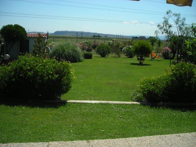 Casa con giardino ideale per ospiti stranieri. - Tarquinia