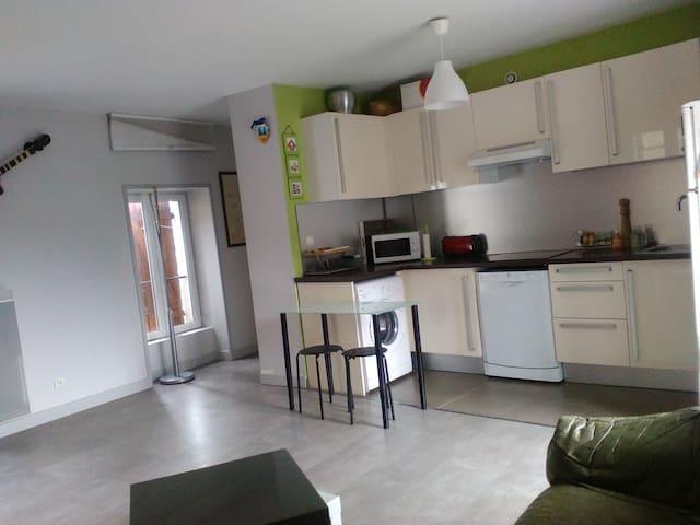 Appartement T1 mi-ville mi-campagne - L'Arbresle - Daire