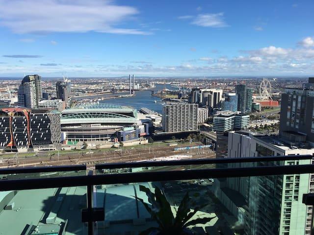 在墨尔本CBD市中心38层看风景City View on 38 Floor MelbourneCBD - Melbourne  - Appartamento