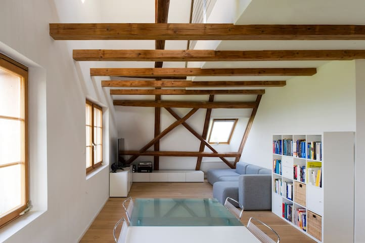 Spacious apartment near Zurich, Zug and Lucerne - Hirzel - アパート