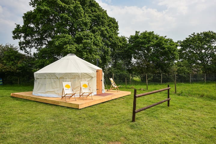Luxury Yurt at Campsite next to Adventure Park - East Sussex - Yurt