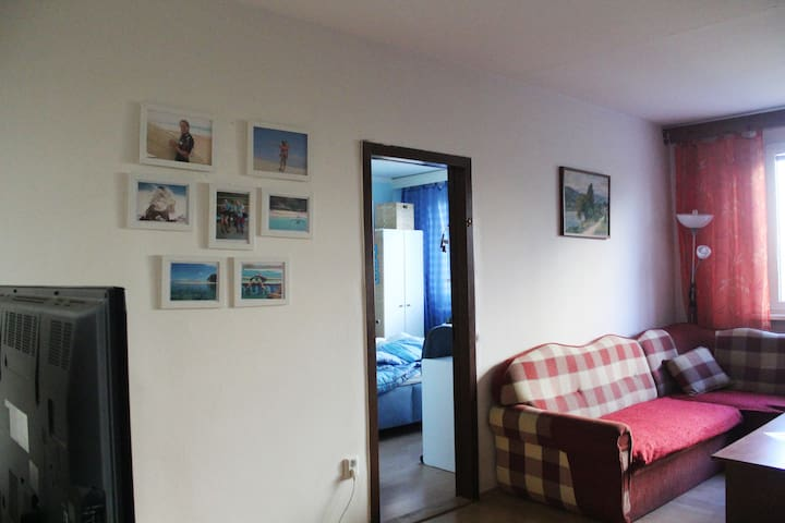 Cozy Living Room - Double Couch/Bed - Bratislava - Wohnung