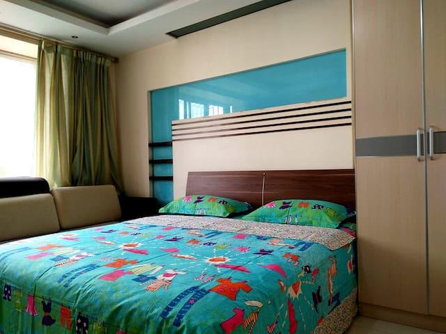 郑州人家-东风路轻院超级舒适的豪华大床房 - Zhengzhou