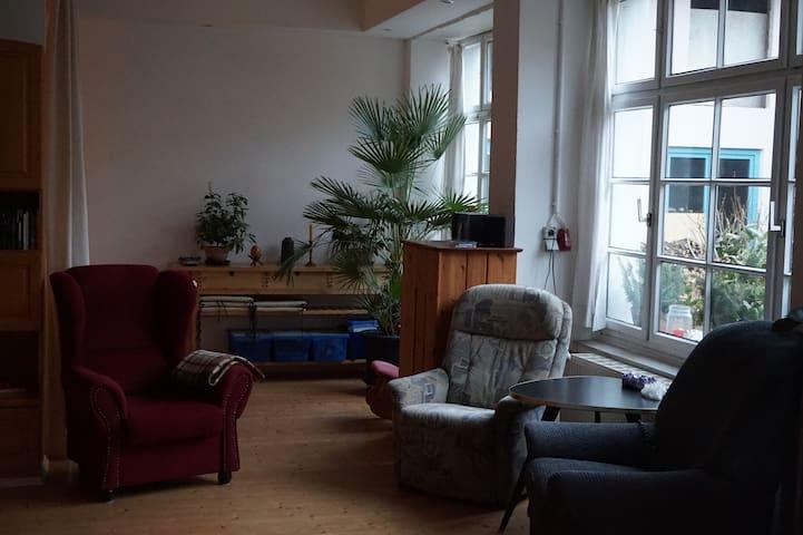 Barriere-freie Ferienwohnung - Dossenheim - ลอฟท์
