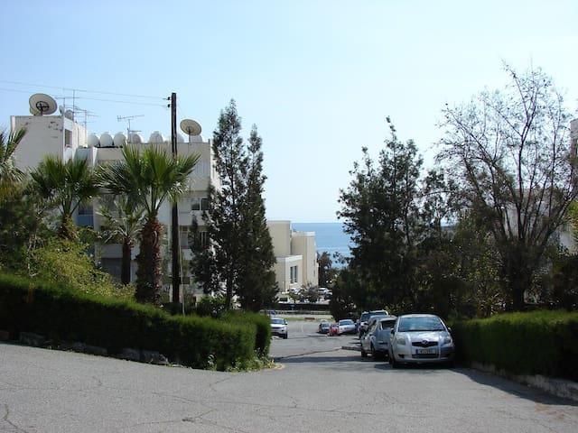Уютные 1 сп. апартаменты рядом с пляжем (4 Сезона) - Agios Tychon - Appartement