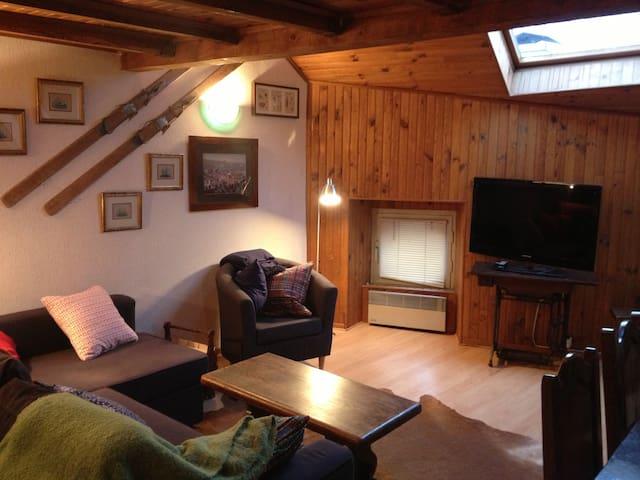 warm apartment for skiing - Osséja - Lägenhet