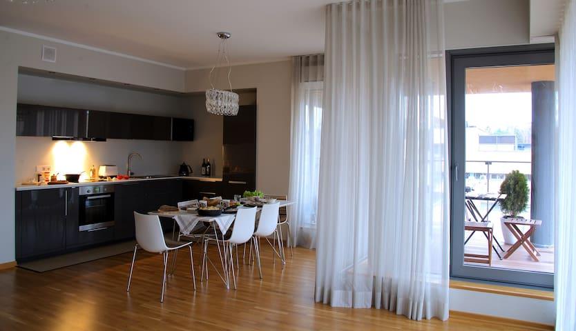 Семейные апартаменты у моря - Saulkrasti