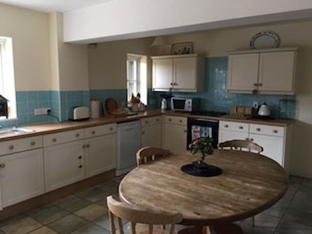 Spacious, well-equipped farm flat in rural village - Stratton Audley - Leilighet