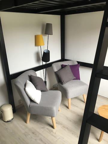 Cosy room with private bathroom! - Antwerpen - Talo