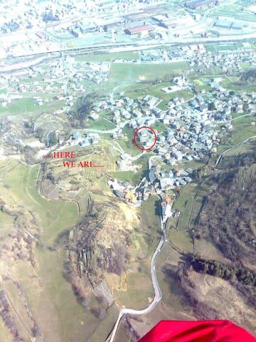 MANSARDA-ATTIC IN AOSTA CHARVENSOD (AOSTA VALLEY) - Charvensod - Rumah