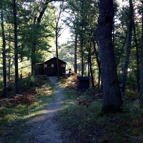 Pere Marquette Riverfront Cabin - Baldwin - Hytte