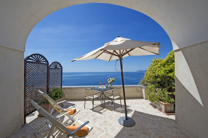 Olivaio Special Double Room at Villa Il Frantoio - Praiano - Penzion (B&B)