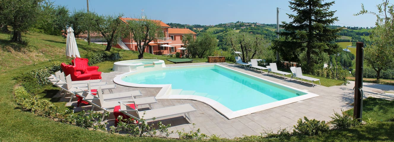 Agriturismo Casa Renili appartamento Ginestra - Pesaro