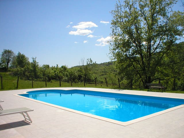 Istria country apartments with pool - Gračišće - Lägenhet
