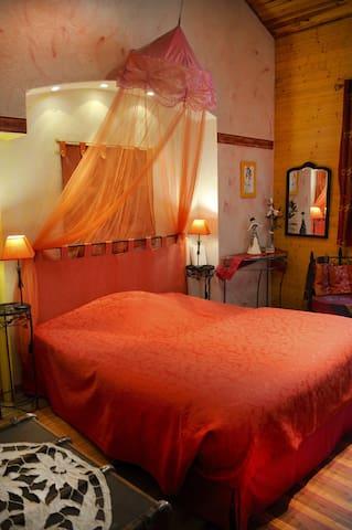 chambre d'hôtes -suite- 4 épis - Roanne - Bed & Breakfast