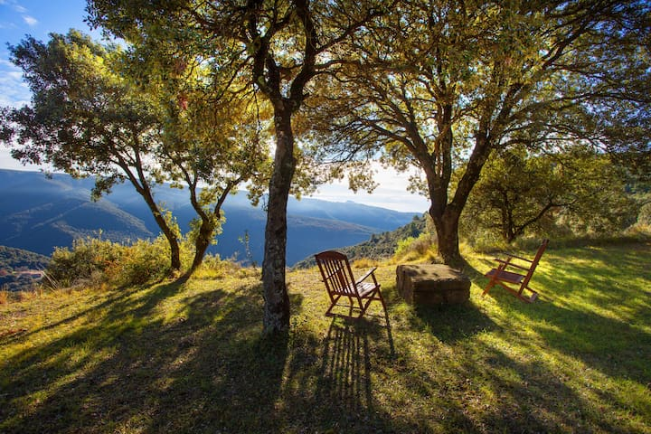 The best views in Montseny - Barcelone - Bed & Breakfast
