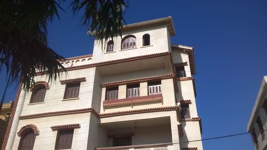 haut de villa vu sur mer deux etage - Bou Ismaïl