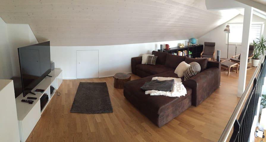 Zimmer in moderner WG in Biel I - Ipsach - Apartmen