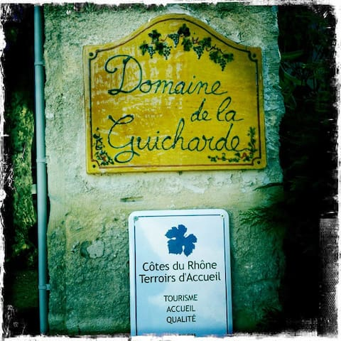 Chambre coté cour - Mondragon - Casa de huéspedes