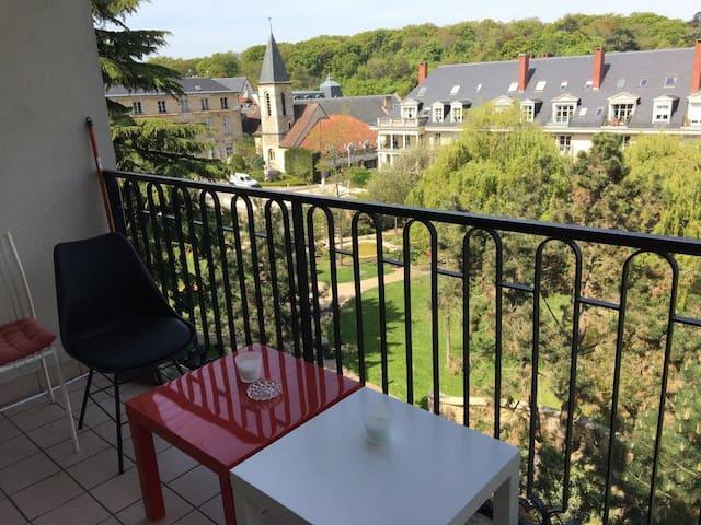 Appart 4Pers. Coeur de Ville Proche Paris - ル・プレシ=ロバンソン - アパート