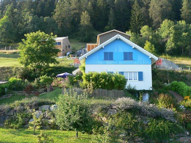 schönes 1 Familienhaus in den Alpen - Trin