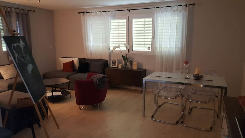 Cosy independent 1BD house&garden - Gland - 一軒家