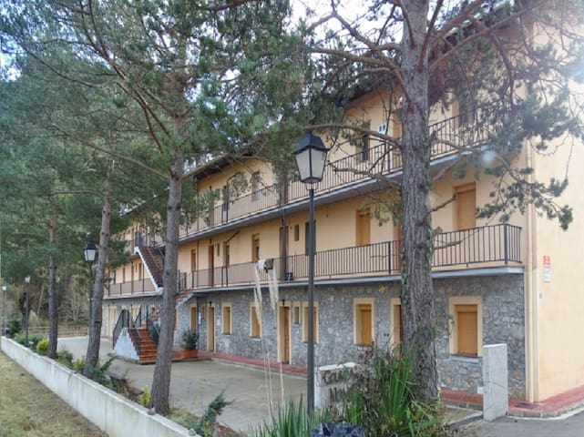 Apartamento rural en Los Pirineos - Guardiola de Berguedà - Condomínio