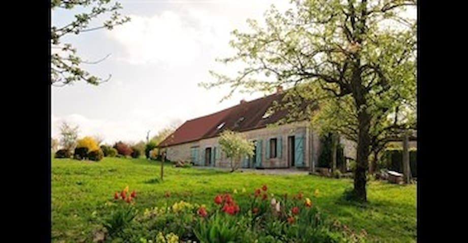 Cave cidricole-chambre d'hôtes(accueil paysans) - Millay - Pousada