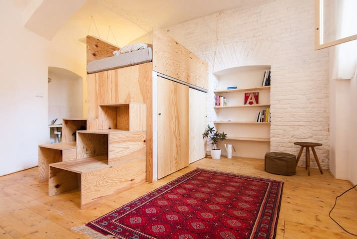 Basement studio in the very centre - Bratislava - Apartemen