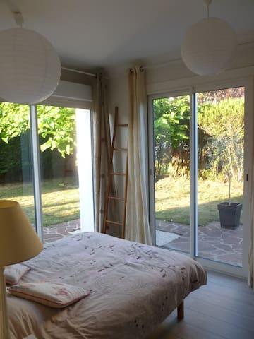 Chambre privée dans maison avec jardin et garage - Saint-Paul-lès-Dax - Casa