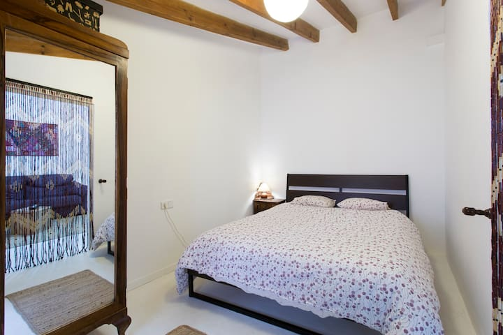 Double room with private lounge - Sóller - House