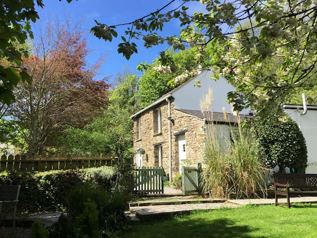 Romantic cottage for two - Perranporth - Huis