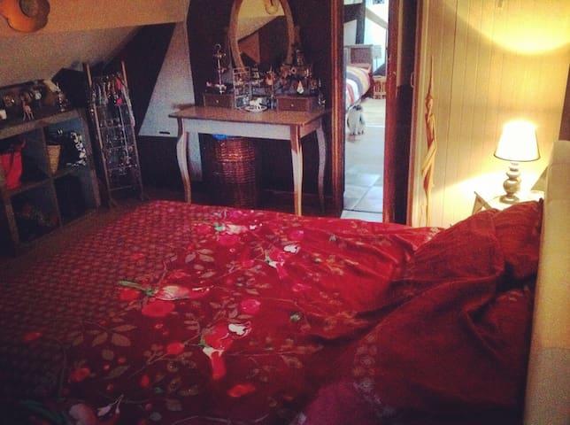 Chambre dans un duplex à Chatou. - Chatou - Appartement