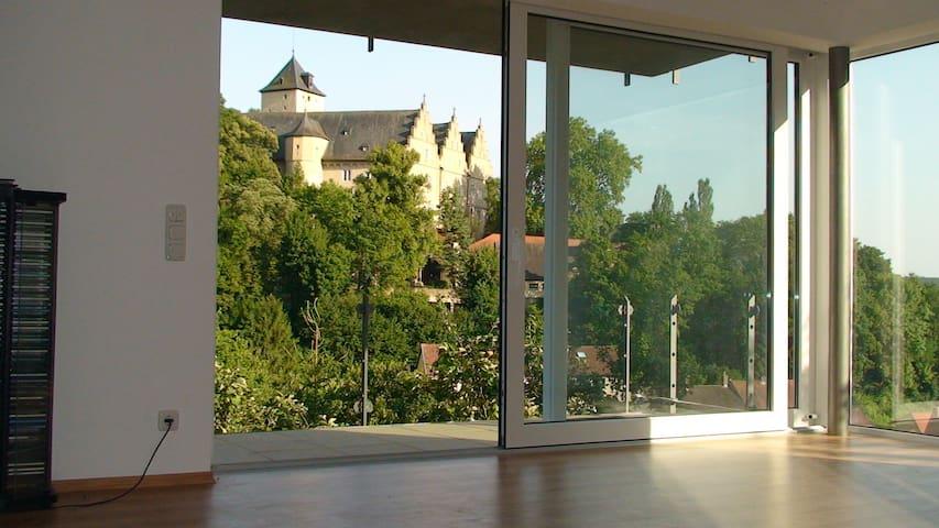 65m² große stilvolle Ferienwohnung - Schonungen - Appartement
